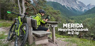 Merida hegyikerékpárok A-Z-ig