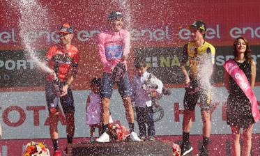Vincenzo Nibali locul 2 la Turul Itlaiei 2019!