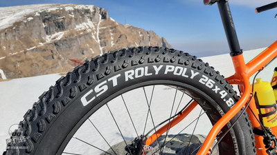 Test reuşit pentru anvelopele fat CST Roly Poly!