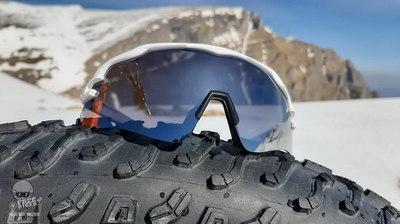 Test pentru noii ochelari sport Merida Race