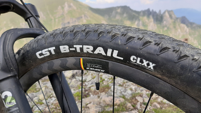 """Test excelent pentru noile anvelope de """"race"""" CST B-Trail"""