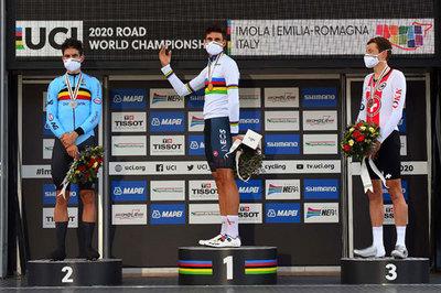 Filippo Ganna este Campion Mondial la contratimp!