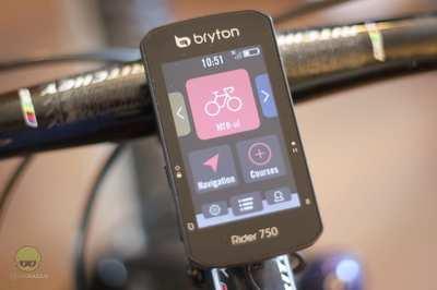 Test foarte bun pentru Bryton Rider 750, realizat de Freerider.ro